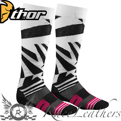 Thor Moto Knit Motocross Mx Enduro Motorcycle Motorbike Dirt Bike Socks Dazz