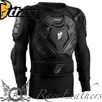 Thor Sentry Xp Mx Motocross Enduro Motorcycle Motorbike Body Armour Jacket