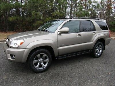 2008 Toyota 4Runner Limited Sport Utility 4-Door 08 Toyota 4Runner Limited V6 4x4 Leather Navigation Low Miles 1-Owner Records
