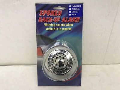Car Alarms Back-Up Loud TRAIN SOUND Yodel 12Volt