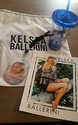 Kelsea Ballerini Neverland VIP First time signed photo backpack cup Peter Pan
