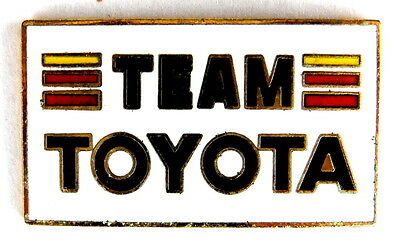 AUTO Pin / Pins - TEAM TOYOTA emailliert [1336]