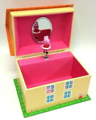 *NEW* PEPPA PIG musical Jewelry Box!!! With PEPPA TWIRLING!