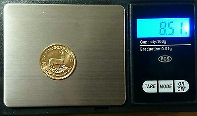 2012 uncirculated 'MINT' 1/4 South African Krugerrand Gold Bullion Coin