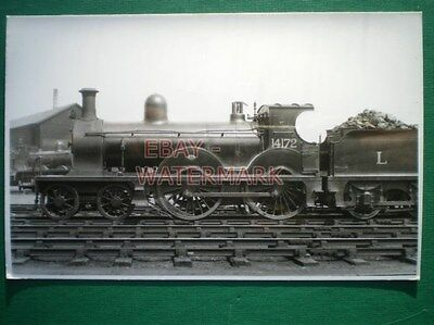 Photo  Lms Ex Gswr Class 2P  4-4-0 Loco No 14172 On Shed At Ayr 5/30