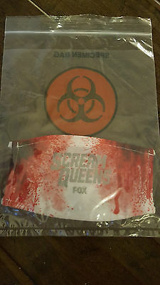 2016 Sdcc Comic Con Exclusive Fox Scream Queens Biohazard Bloody Surgical Mask