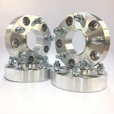 """2X HUBCENTRIC WHEEL SPACERS ADAPTERS ¦ 5X135 ¦12X1.75 ¦ 87MM CB¦ 3 INCH 3.0/"""""""