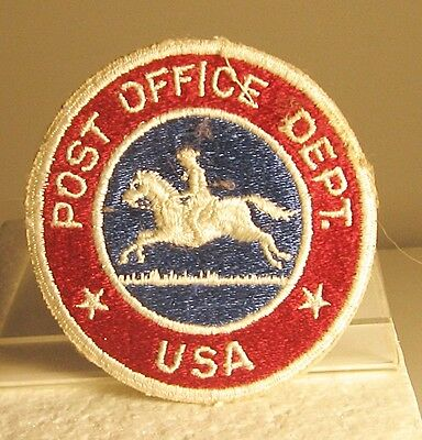 Obsolete Post Office Department U.s.a. Patch