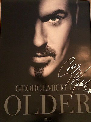 George Michael signed OLDER 16x24 poster from 1996