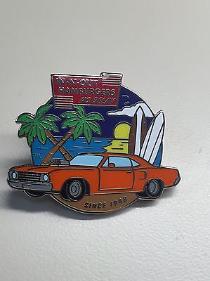 In N Out Burger Pin - Double Double - Fast Food - CA - California