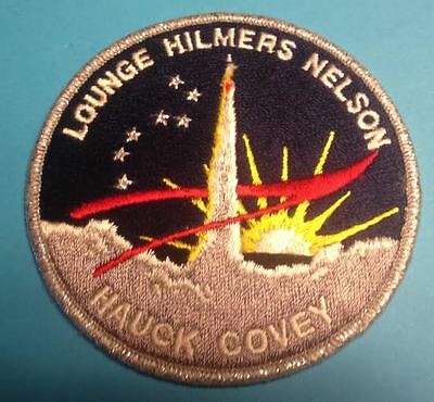 RARE NASA Collectable Space Shuttel STS 26 Mission Patch Crest Hauck Covey