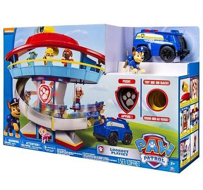 PAW PATROL quartier generale + chase