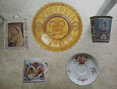 Queen Victoria and King Edward VII commemorative pieces
