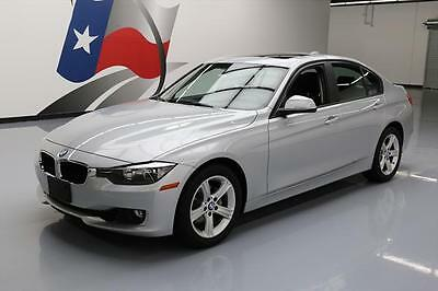 2015 BMW 3-Series Base Sedan 4-Door 2015 BMW 328I SEDAN PREMIUM TURBO SUNROOF LEATHER 34K #120426 Texas Direct Auto