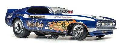 Auto World 1:18 Blue Max 1971 Ford Mustang Funny Car AW1171