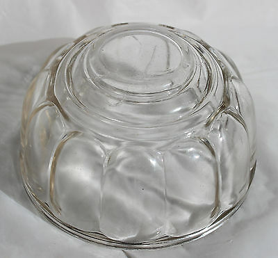 Vintage Depression Glass ROUND JELLY MOULD Jelly Terrine