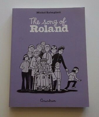 THE SONG OF ROLAND graphic novel by MICHEL RABAGLIATI! NEW and NEVER READ!