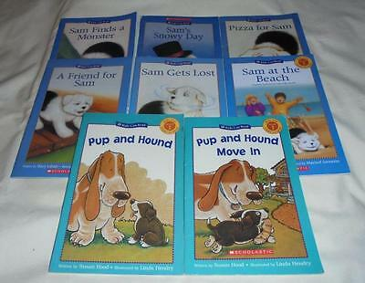 HUGE set of 8 Kids Can Read series books: Sam+