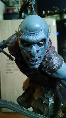 Sideshow Exclusive Lord of the Rings Black Orc Scout Premium Format