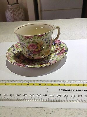 "Grimwades Royal Winton ""Summertime"" Tea cup and saucer"