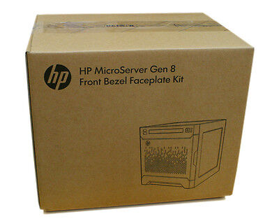 NEW HP ProLiant MicroServer Gen8 Front Bezel Faceplate Color Kit - With Colors