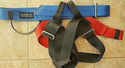 Climbing Harness Vertical Used - Excellent Condition