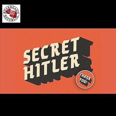 Secret Hitler – Fascist or Liberal? Party Card Game HOT 2016! NEW AUSSIE STOCK!
