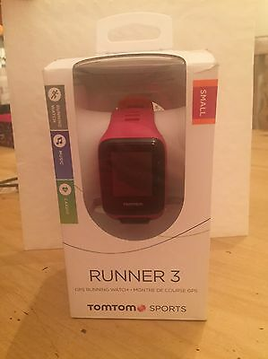 TOMTOM Runner 3 Cardio And Music GPS Sports Watch Pink And Orange