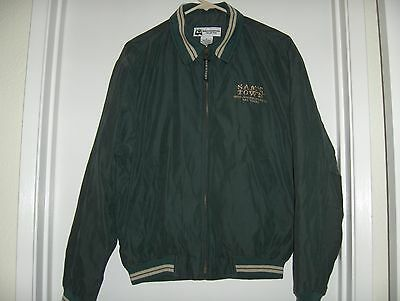 Sam's Town Casino Las Vegas jacket green and gold size S