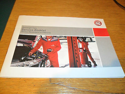 Vauxhall Service Booklet 2007 Edition