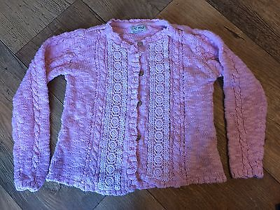 Next Girls Pretty Pink Cardigan 5-6 Years