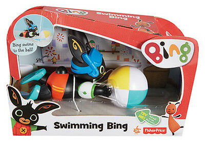 Fisher Price Bing Bunny Swimming Bing Activity Playset Brand New In Box Cgn08