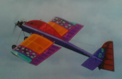 """RC Model Aircraft Building Plan """"BUGLY UGGER"""" IC Fun-Fly/3D"""