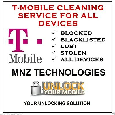T-Mobile Bad IMEI / ESN Blacklist Removal Cleaning Service iPhone Galaxy Android