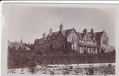 Balhall House Menmuir Brechin Early RP Postcard J Steele Unposted