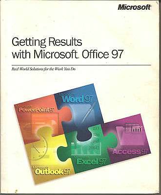 Microsoft office 97, getting Results