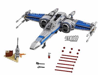 LEGO STAR WARS ``RESISTANCE X-WING FIGTHER´´ Ref 75149 MINIFIGURES DOESN'T