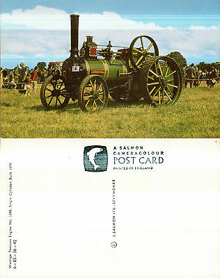 WANTAGE TRACTION ENGINE No 1348 MINT UNUSED COLOUR POSTCARD