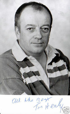 Tim Healy Handsigned Black & White Photograph  5.5 X 3.5