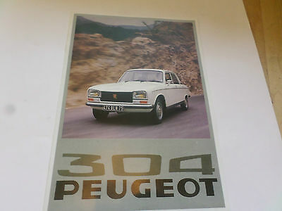 Peugeot 304 Good Condition -Great pics MORE.....