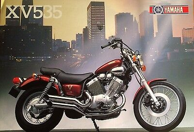Yamaha Xv535- 1987 Promotional Sales Flyer - 1988 - Mint Condition