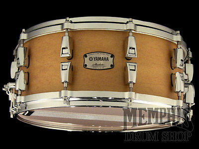 Yamaha 14 x 6 Absolute Hybrid Maple Snare Drum - Vintage Natural