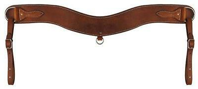American Made Heavy Duty Medium Oil Leather Tripping Collar! NEW HORSE TACK!