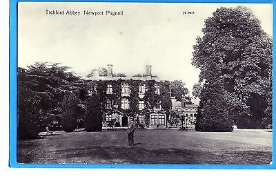 Tickford Abbey  Newport Pagnell  Real Photo P/c  Un-Named Publisher-  Unposted