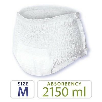 80 Medium Pull Up Incontinence Pants, Nappies.........Plus Absorbency..........