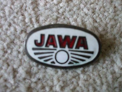 Jawa Enamel Badge Motorcycle
