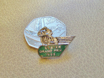 1968 Ulster motorcycle racing badge