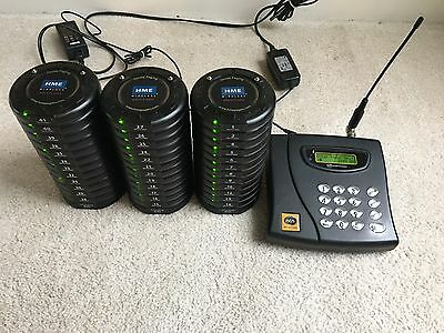 wireless pager system (HME receiver and 36 pagers)