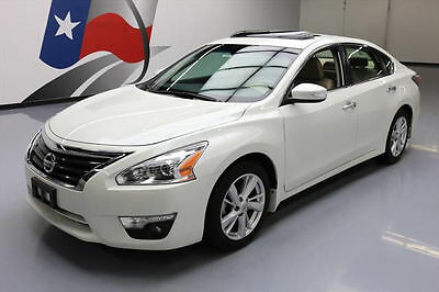2015 Nissan Altima  2015 NISSAN ALTIMA SL SEDAN SUNROOF NAV REAR CAM 27K MI #124412 Texas Direct