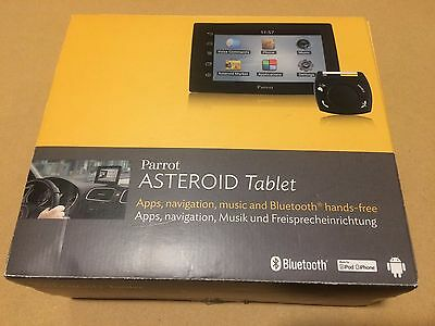 "Parrot Asteroid 5"" Tablet Touch Bluetooth Car Media Receiver Phone Android 8Gb"